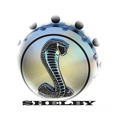 Shelby Cobra Art Poster