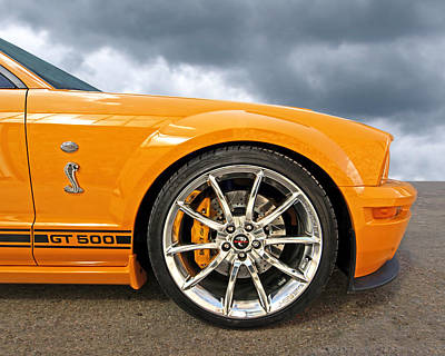 Shelby Gt500 Wheel Poster