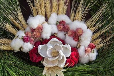 Shell Flower On Prentis Shop Wreath Poster