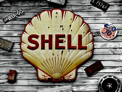 Shell Gas Poster