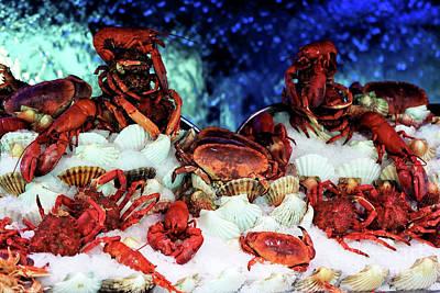 Shellfish Poster by John Rizzuto