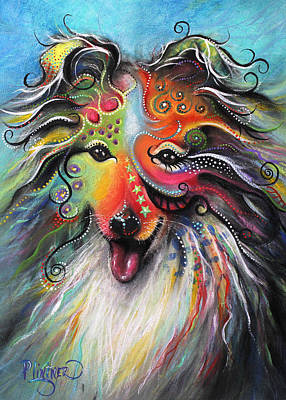 Sheltie  Poster by Patricia Lintner