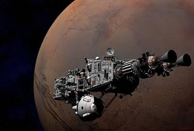Shenandoah At Mars Poster by David Robinson