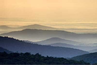Shenandoah National Park Mountain Scene Poster