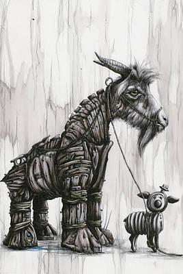 Shepherd Of Allegory Deception Poster