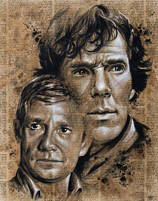 Sherlock Holmes IIi Poster by Nate Baranowski