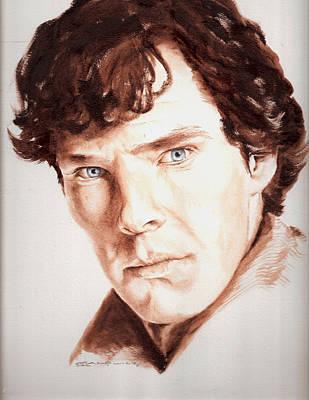Sherlock Poster by Karl Opanowicz