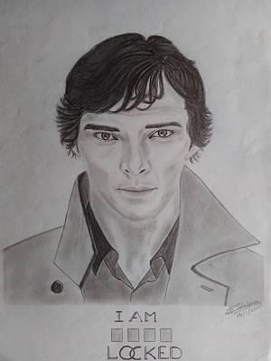 Sherlocked- Benedict Cumberbatch Poster by Rahuldas Ramdas