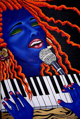 She's Magic Poster by Nannette Harris