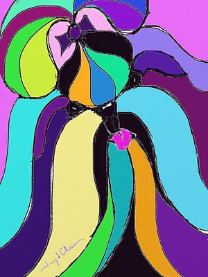 Shih Tzu Colors Poster