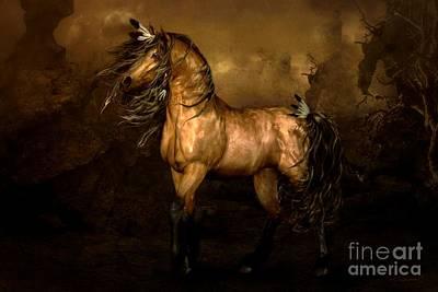 Shikoba Choctaw Horse Poster by Shanina Conway