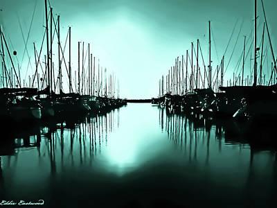 Shilshole Bay Marina In Seattle Washington Poster