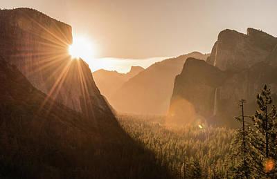 Shining El Cap Poster by Kristopher Schoenleber