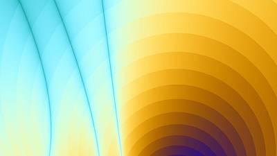 Shiny Rainbow Poster