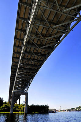 Ship Canal Bridge Poster by Pelo Blanco Photo