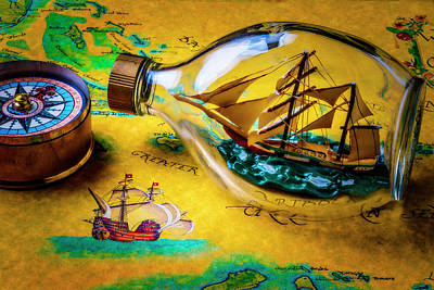 Ship In The Bottle Poster