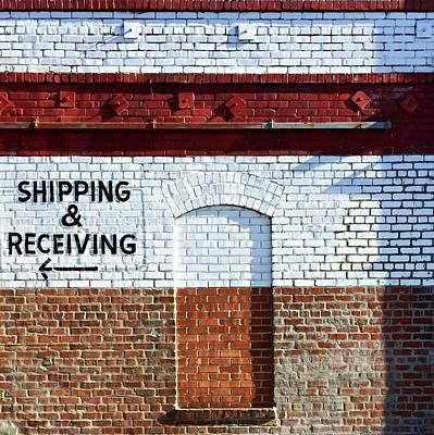 Shipping And Receiving  Poster