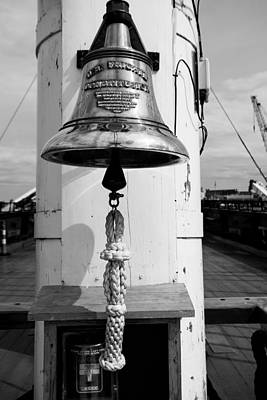 Ships Bell Uss Constitution Poster