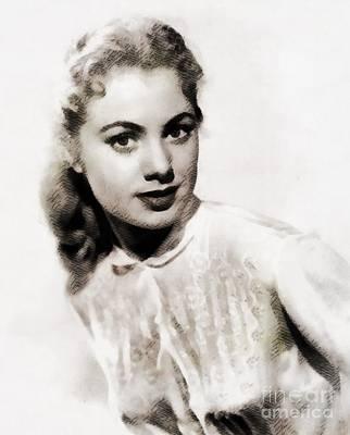Shirley Jones, Vintage Actress Poster