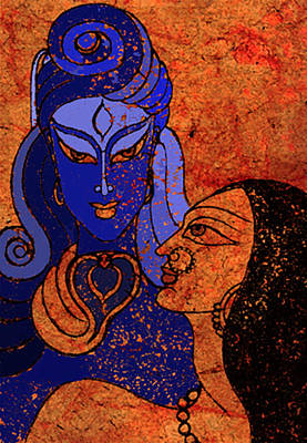 Shiva And Shakti Poster by Sonali Chaudhari