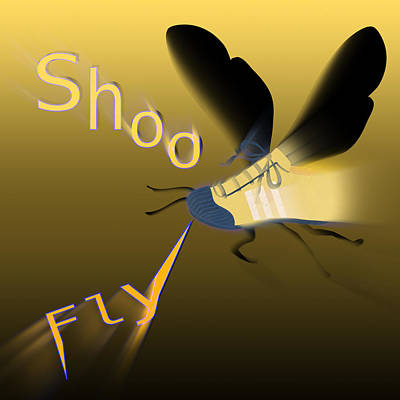 Shoe Fly Shoo - Word Play Poster