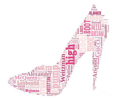 Shoe Lover Tee Poster