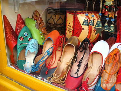 Shop On Rue Daubenton Poster