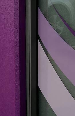 Shopfront Abstract Poster