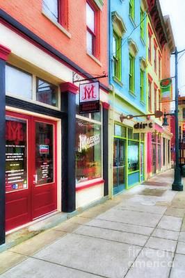 Shops At Cincinnati's Findlay Market # 6 Poster by Mel Steinhauer
