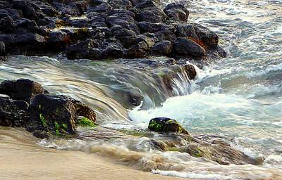 Poster featuring the photograph Shoreline by Lori Seaman
