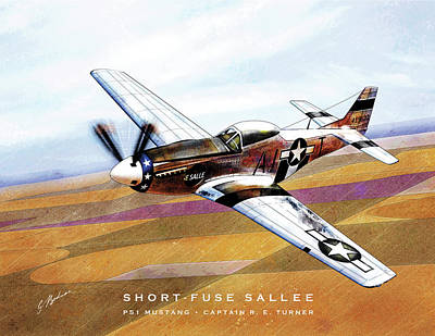 Short-fuse Sallee Poster by Gary Bodnar