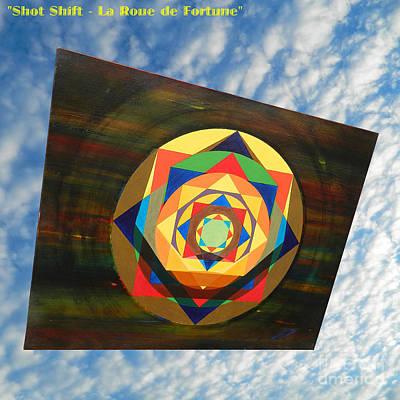Shot Shift - La Roue De Fortune Poster by Michael Bellon