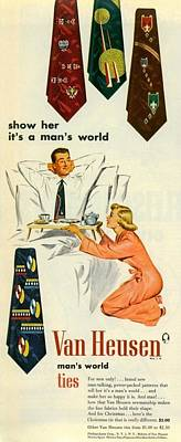 Show Her It's A Man's World Poster