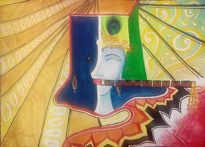 Shree Krishna Poster by Rohit Kumar