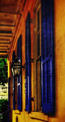 Shutters And Lamps Poster