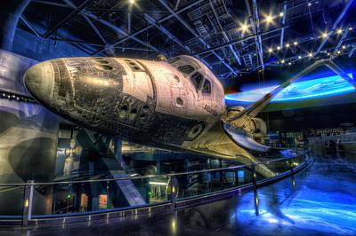 Shuttle Atlantis Poster by Brad Granger