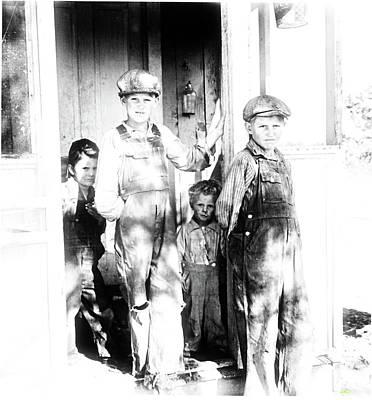 Siblings Living In Taos 1930's Poster