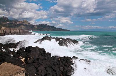 Sicilian Stormy Sound Poster