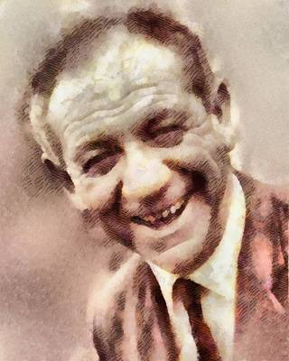 Sid James, Carry On Actor Poster