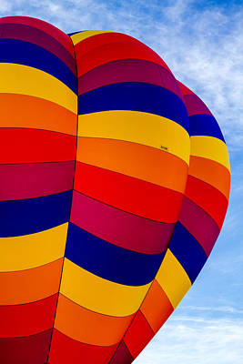 Side Of Hot Air Balloon Poster by Teri Virbickis