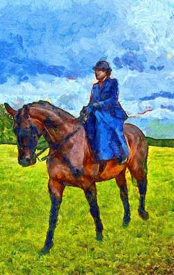 Poster featuring the photograph Side Saddle by Scott Carruthers