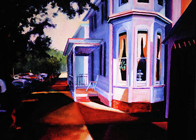 Side Street - Lambertville Poster