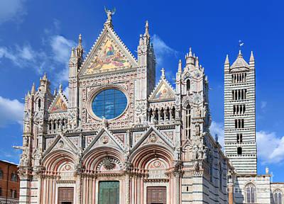 Siena Cathedral, Duomo Di Siena In Siena, Italy, Tuscany Region Poster