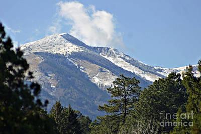Sierra Blanca Clouds 4 Poster