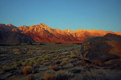 Sierra Nevada Sunrise Poster