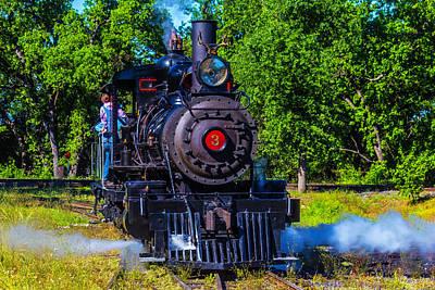 Sierra No 3 Steam Train Poster