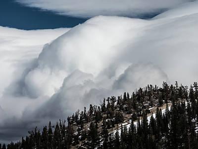 Sierra Stormclouds Poster
