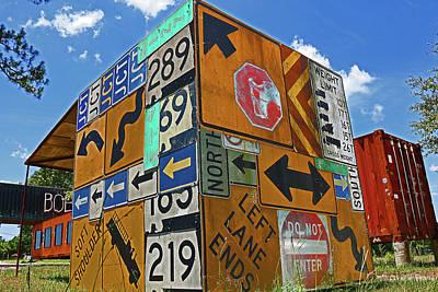 Sign Box Poster by Dayton Preston