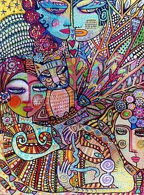 Silberzweig Tree Of Creation Goddess Spirit Poster