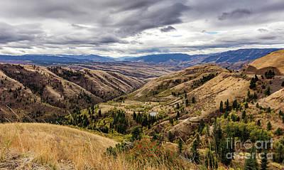 Silence Of Whitebird Canyon Idaho Journey Landscape Photography By Kaylyn Franks  Poster